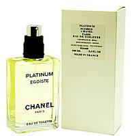 Духи Chanel Egoiste Platinum Tester Для Мужчин 100 ml