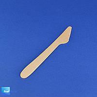 Нож деревянный одноразовый, 165 мм, Pap Star, 100 шт/уп