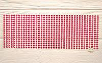 Стразы на клеевой основе, цвет красный, 5 мм, 646 шт.