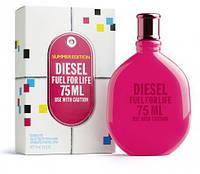 Туалетная вода Diesel Fuel For Life Use With Caution Summer Edition D Ete Pour Femme Для Женщин 75 ml