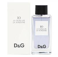 Туалетная вода Dolce & Gabbana 10 La Roue De La Fortune Для Женщин 100 ml