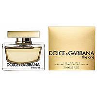 Туалетная вода Dolce & Gabbana The One Для Женщин 75 ml