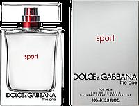 Туалетная вода Dolce & Gabbana The One Sport For Man Для Мужчин 100 ml