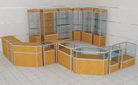 Алюминиевый профиль для торгового оборудования | Профиль для витрин