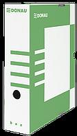 Бокс для архивации документов, 80мм, зеленый 7660301pl-06