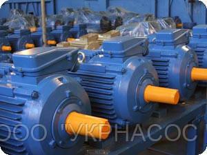 Электродвигатель 7,5 кВт 750 об/мин АИР 160 S8