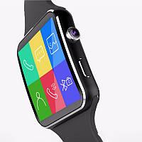 Смарт-часы (умные часы) UWatch X6 Черный