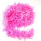 Боа из перьев 60г розовое