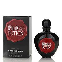 Туалетная вода Paco Rabanne Black XS Potion for Her Для Женщин 80 ml