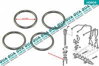 Кольцо стопорное бугеля крепления форсунки ( зажым / скоба / держатель ) 1шт 1609848880 Citroen JUMPY III 2007-, Citroen BERLINGO (B9) 2008-, Peugeot