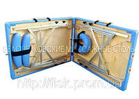 Массажный стол чемодан Вариант Б (алюминий) стол массажный