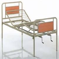 Функциональная кровать металлическая трехсекционная OSD 94