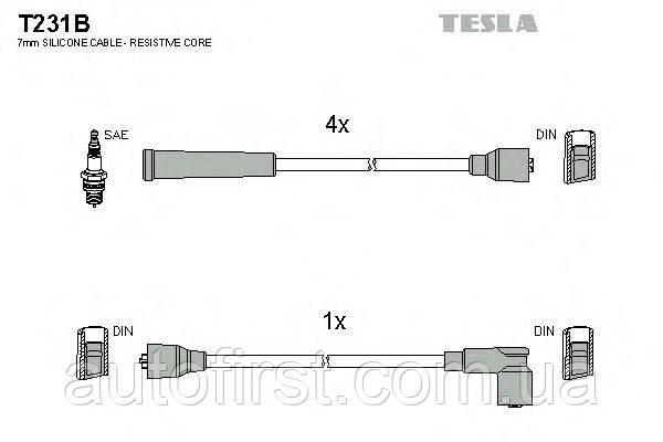 Автомобильные провода зажигания Tesla T231B Honda