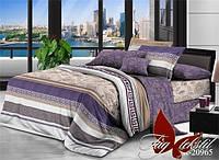Комплект постельного белья с компаньоном R20965 семейный (TAG-374c)