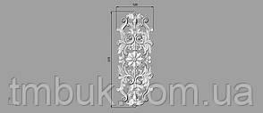 Вертикальный резной декор 40 - 120х315 мм, фото 2