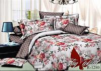 Комплект постельного белья с компаньоном R1280 семейный (TAG-381c)