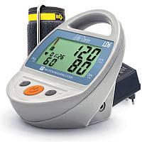 Тонометр автоматический настольный на плечо LD 6 с большим дисплеем, индикатором аритмии, адаптером, Сингапур
