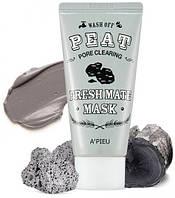 Очищающая маска с древесным углем Fresh Mate Peat mask (Pore Clearing) 50 г