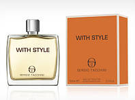 Sergio Tacchini With Style 100ml edt men.Оригинал
