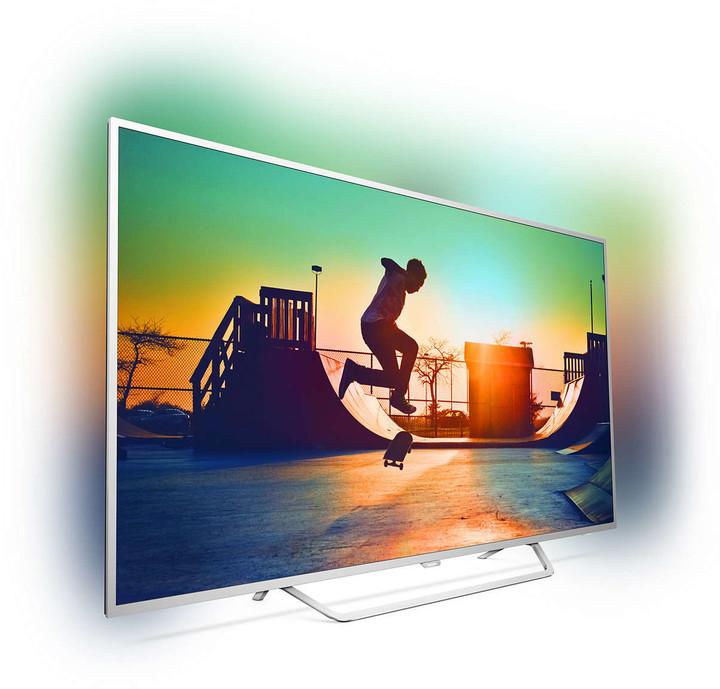 Телевизор Philips 49PUS6412/12 (PPI 900Гц, 4KUltra HD, Smart, Quad Core, Pixel Plus Ultra HD, DVB-С/T2/S2)