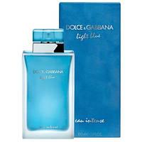 Dolce Gabbana Light Blue Eau Intense 100 ml/мл женские духи парфюм Дольче Габбана Лайт Блю О Интенс (реплика)