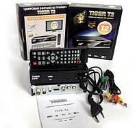 Цифровой эфирный HD приемник Т2 сигнала Tiger T2