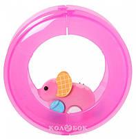 Інтерактивна іграшка Moose Little Live Pets Мишеня Вафелька з колесом