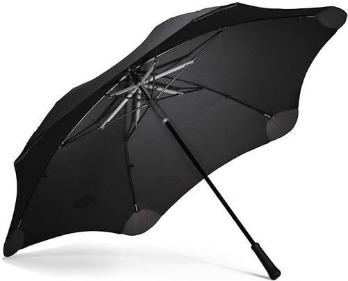 Качественный зонт-трость с большим куполом, механика BLUNT (БЛАНТ) Bl-xl-2-black