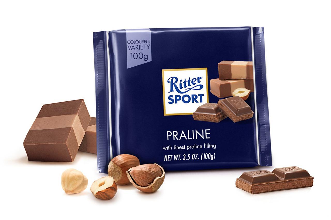 Ritter Sport Nugat (пралине), 100 грамм