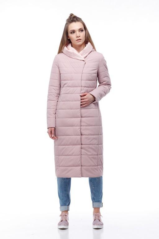 98cb818d Женское стеганое демисезонное пальто, длина 110см, размеры 48-60, цена 1  803,18 грн., купить в Киеве — Prom.ua (ID#638506082)