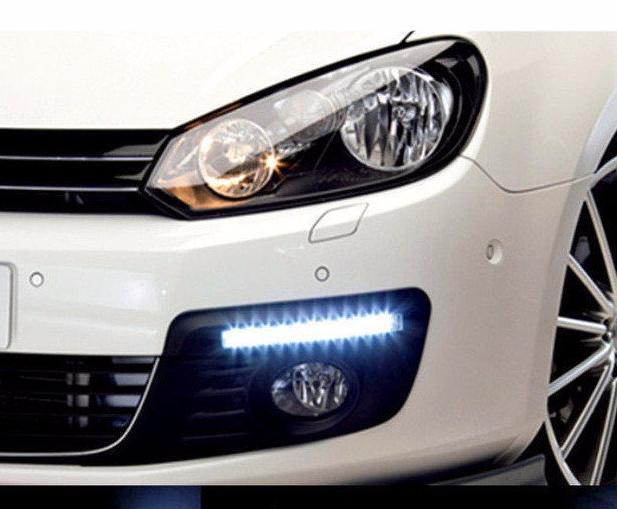 LED Авто Фара DRL-6-Y-W комплект (2 шт)