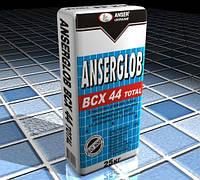 Ancerglob BCX 44 TOTAL, смесь клеевая для внутренней и наружной облицовки, 25 кг