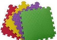 Детский игровой коврик-пазл (мат татами, ласточкин хвост) OSPORT 50cм х 50cм толщина 10мм (FI-0009) 1 шт
