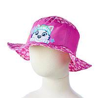 Детская шляпка PAW Patrol (Щенячий патруль) на лето (панамка, хлопок, размер 48 / 51) ТМ ARDITEX PW11118 малиновый