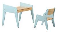 Детский стол и стулFunDesk Omino Blue