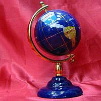 Глобус с камнями на ножке (60мм)