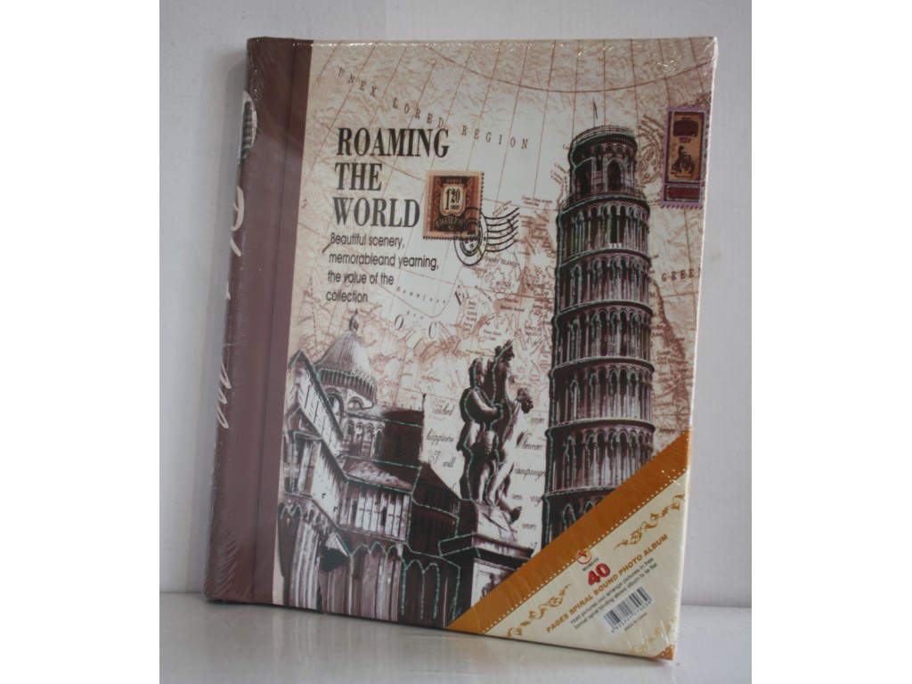 Фотоальбом на 20 магнитных листов Roaming the world 5021-3