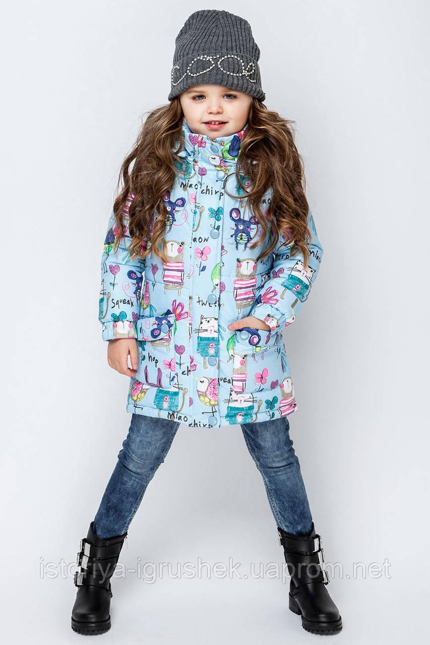 Курточка для девочки vkd-1 в ассортименте