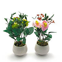 Цветы в горшке (20х7х7 см)