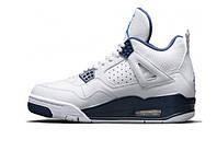 Женские баскетбольные кроссовки Nike Air Jordan Retro 4 (IV) White