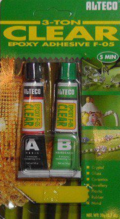 Клей эпоксидный ALTECO прозрачный 5 мин