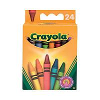 24 разноцветных стандартных восковых мелка, Crayola
