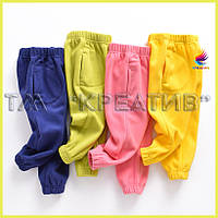 Детские флисовые штаны оптом (под заказ от 50 шт) с НДС, фото 1