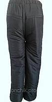 Штаны теплые байкер, фото 3