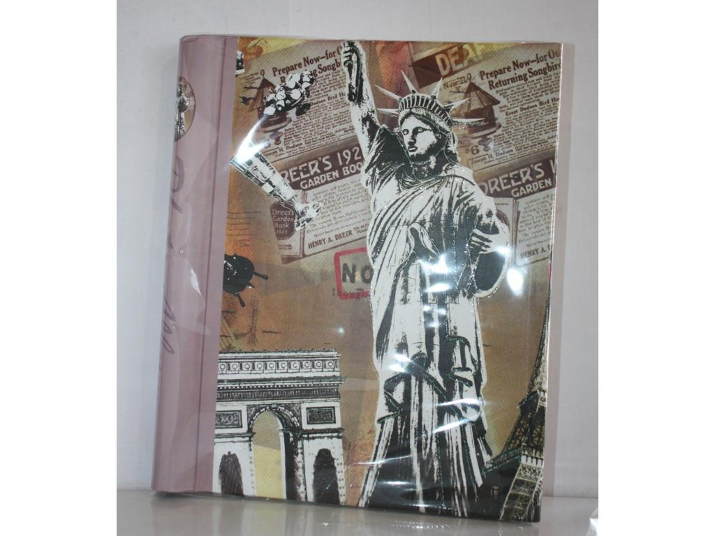 Фотоальбом на 20 магнітних листів Статуя Свободи 5021-3