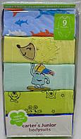 Набор бодиков Carters для мальчиков с длинным рукавом, возраст 9 месяцев