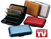 Кошелек для кредиток и бумажных купюр Aluma Wallet
