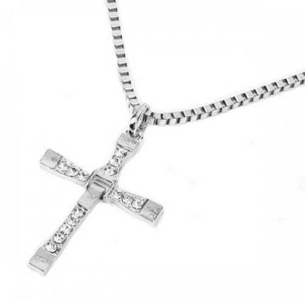 Хрест Торетто з ланцюжком, фото 2