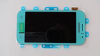 Оригинальный дисплейный модуль Samsung J110 Galaxy J1 (SM-J110) Blue (голубой). GH97-17843C