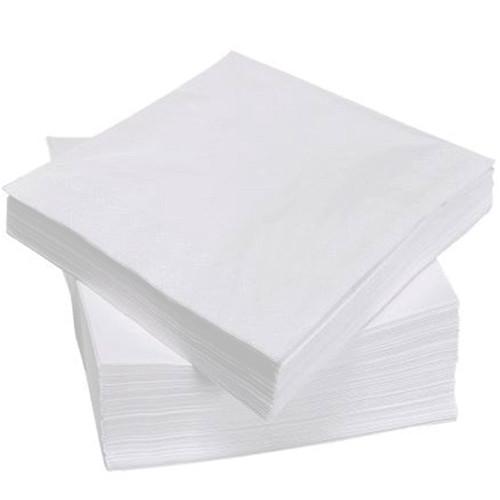 Салфетка белая (барная) 21*21см 500шт
